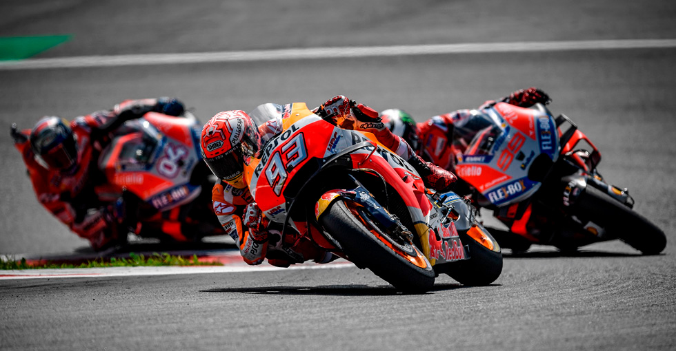 Marquez Takes Second In Spielberg Thriller