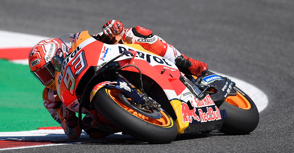 Marquez Second at Misano and Extends Title Lead