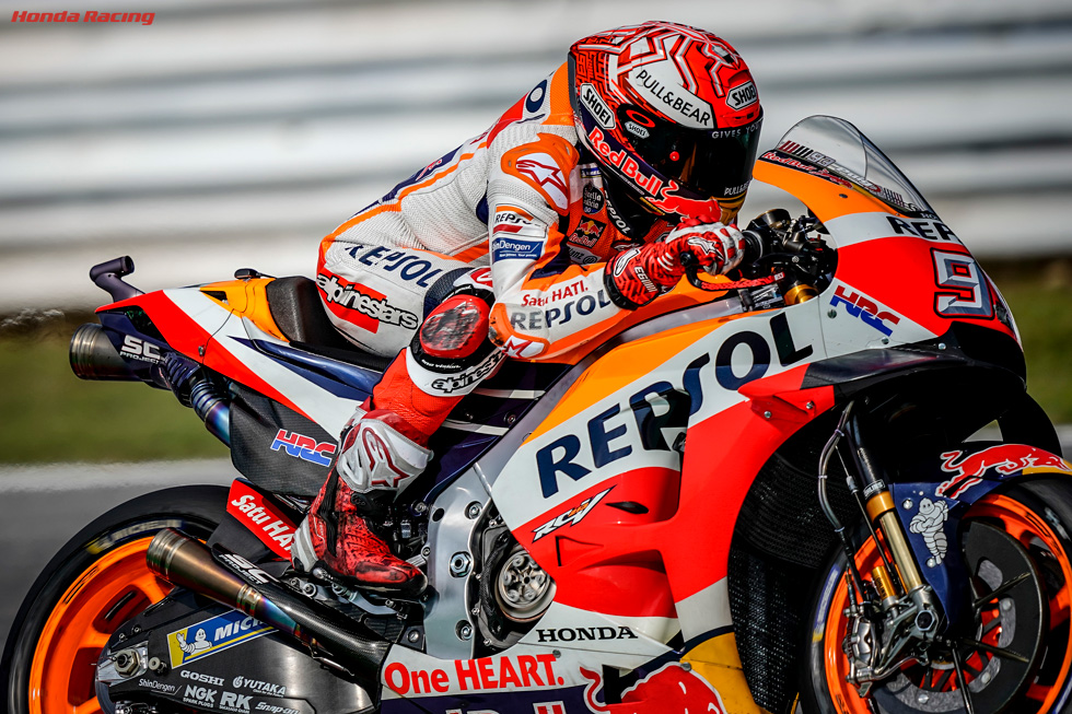 Marquez Has Heart Set on Another Home Victory