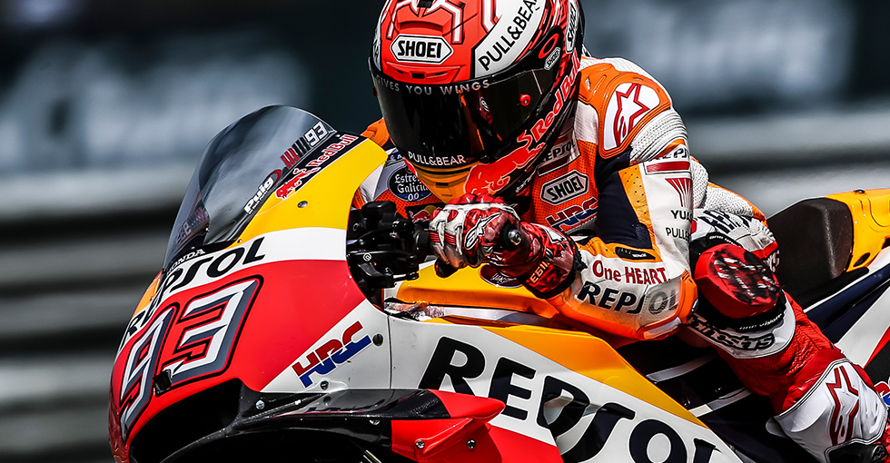 Magic Marquez takes 50th MotoGP Pole in Thailand