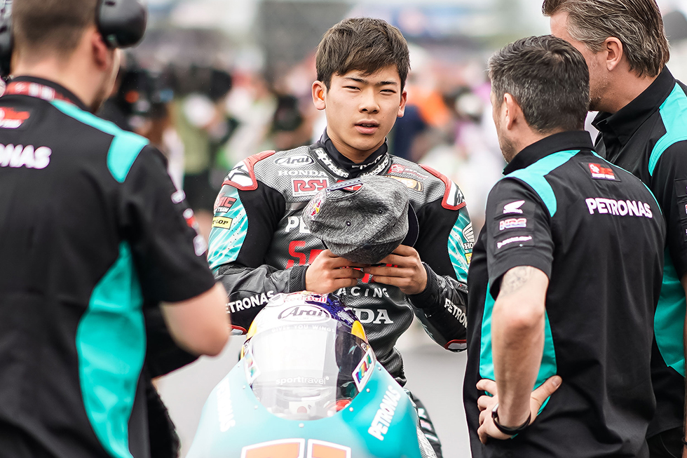 Ayumu Sasaki Added to Honda Riders Close Up Site