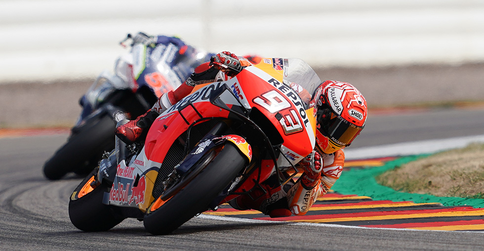 Magical Marquez Takes Tenth Consecutive Pole At The 'Ring