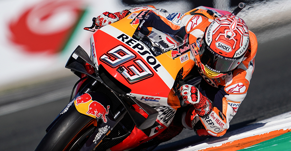 Marquez Secures 16th Front-row Start from 19 Races