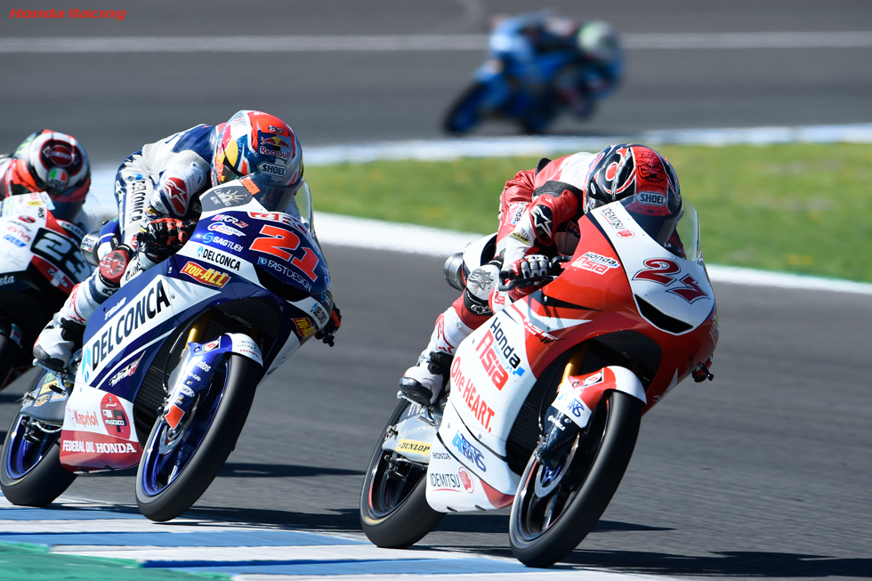 Toba 9th in Jerez, Atiratphuvapat 19th
