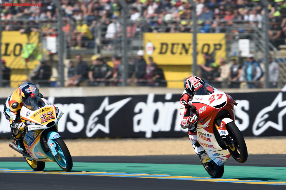 Toba 17th at Le Mans, Atiratphuvapat 20th