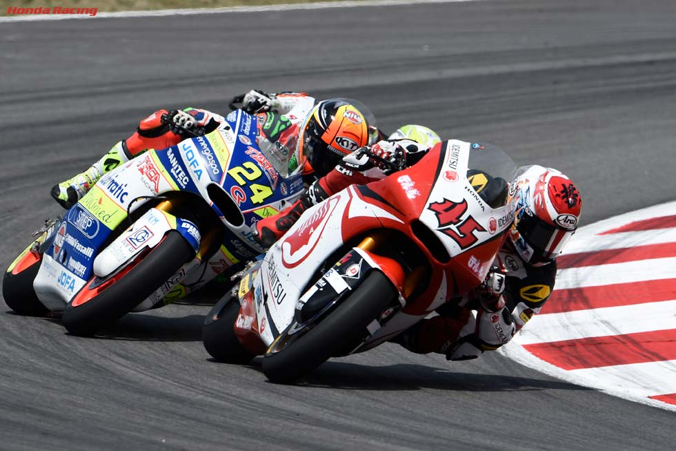 Solid 13th for Nagashima in Montmeló, Pawi 19th