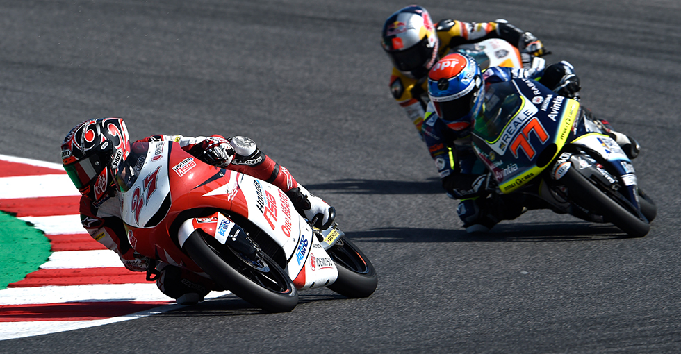 Toba 13th in Misano Moto3, Atiratphuvapat 18th