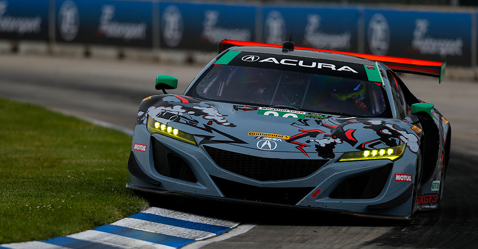 Acura, Meyer Shank Racing Take Victory in Detroit