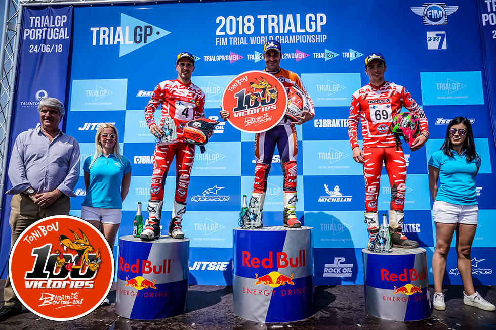 Toni Bou Achieves 100th Trial World Championship Victory