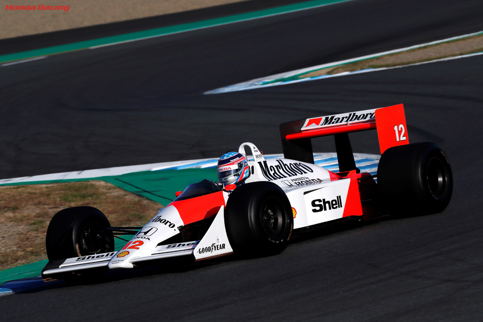Takuma Sato (MP4/4) (Honda Racing 60th Anniversary)
