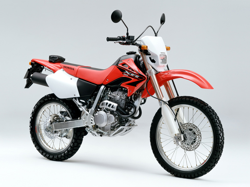 New Body Color for the XR250 and XR250 Motard