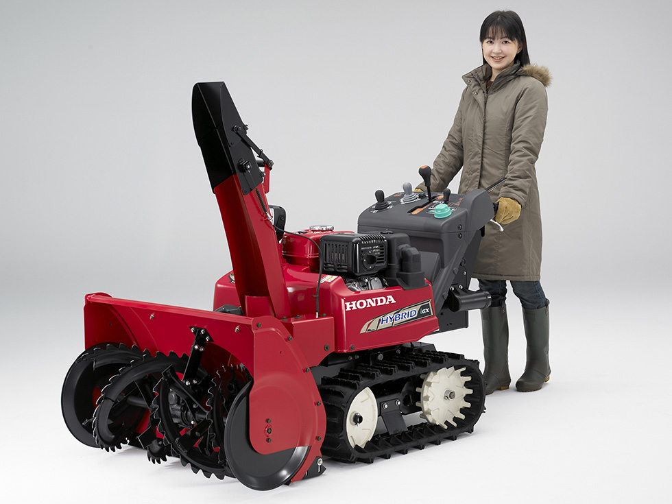 Honda Releases the HSM1590i-World's First Mid-Size Hybrid Snowblower with Electronically Controlled Switchable Operating Modes