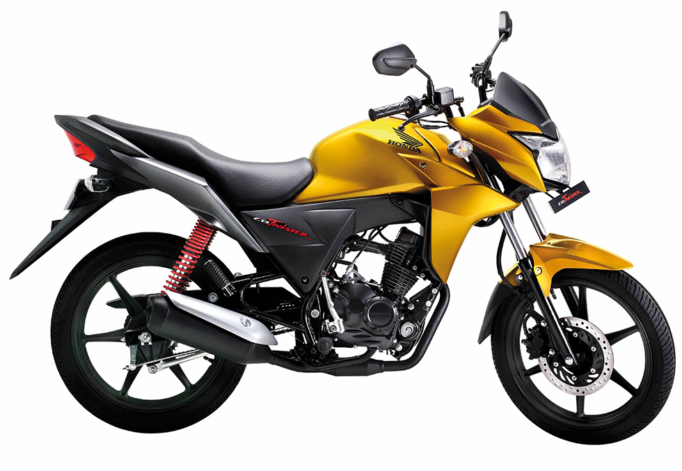 Honda Introduces All-New 110cc Motorcycle, CB Twister, in India