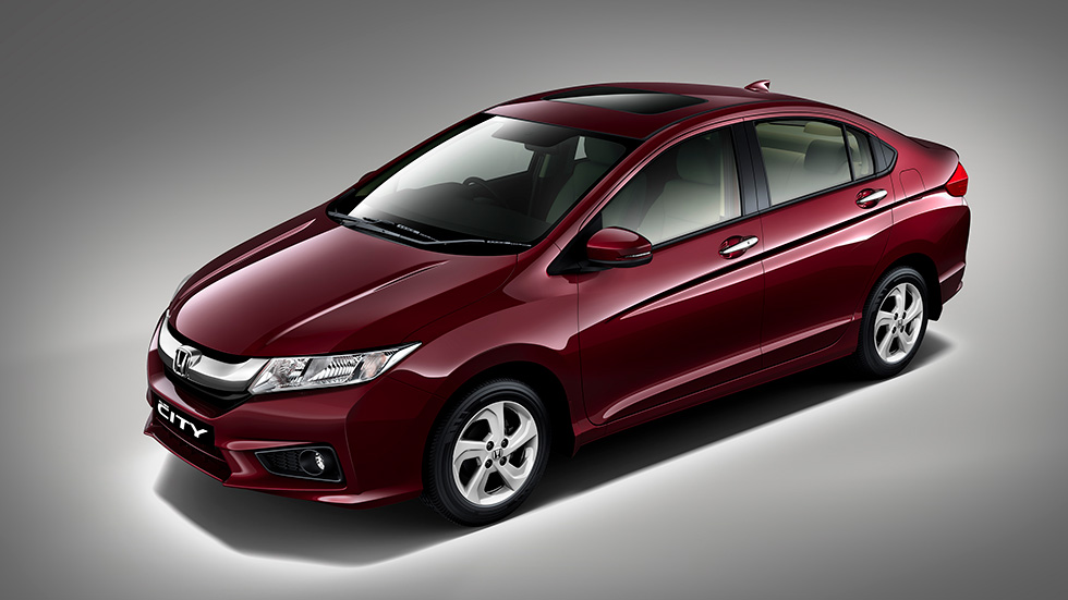 Honda unveils All New 4th Generation Honda City at a World Premiere in India