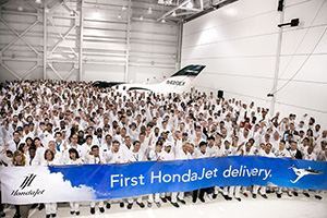 Honda Aircraft Company Begins HondaJet Deliveries