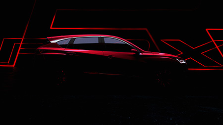All-new Acura RDX Prototype Teased Ahead of Detroit World Debut