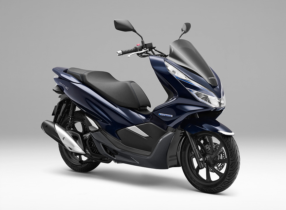 Honda to Launch Motorcycle Hybrid System-equipped PCX HYBRID Scooter Pursuing a New Joy of Mobility