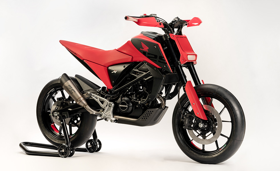 Honda's Rome R&D Centre brings two 125cc design studies to EICMA