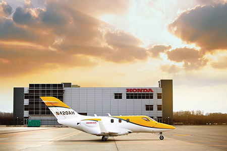 The HondaJet Finishes 2017 As The Most Delivered Jet In Its Category