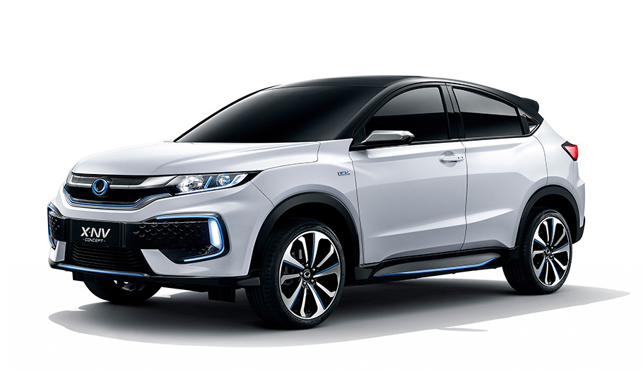 Honda Exhibits the World Premiere of the X-NV Concept, a Concept Model for its Second China-exclusive Electric Car, at Auto Shanghai 2019