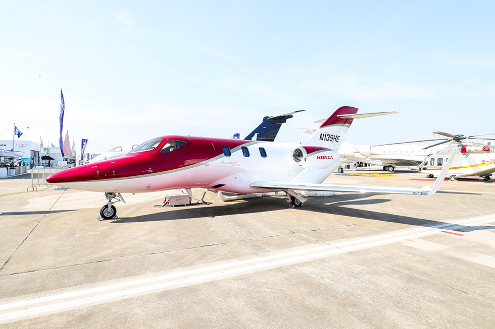 The HondaJet Elite Obtains Chinese Type Certification