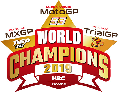 Honda Wins Three Premier World Grand Prix Category Riders Titles