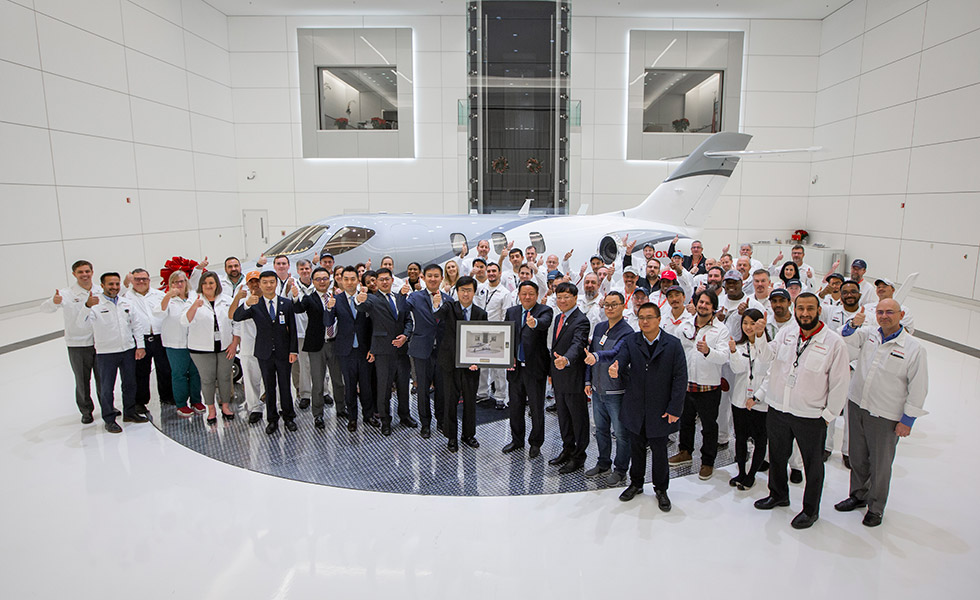 Honda Aircraft Company Begins Deliveries of HondaJet Elite to China
