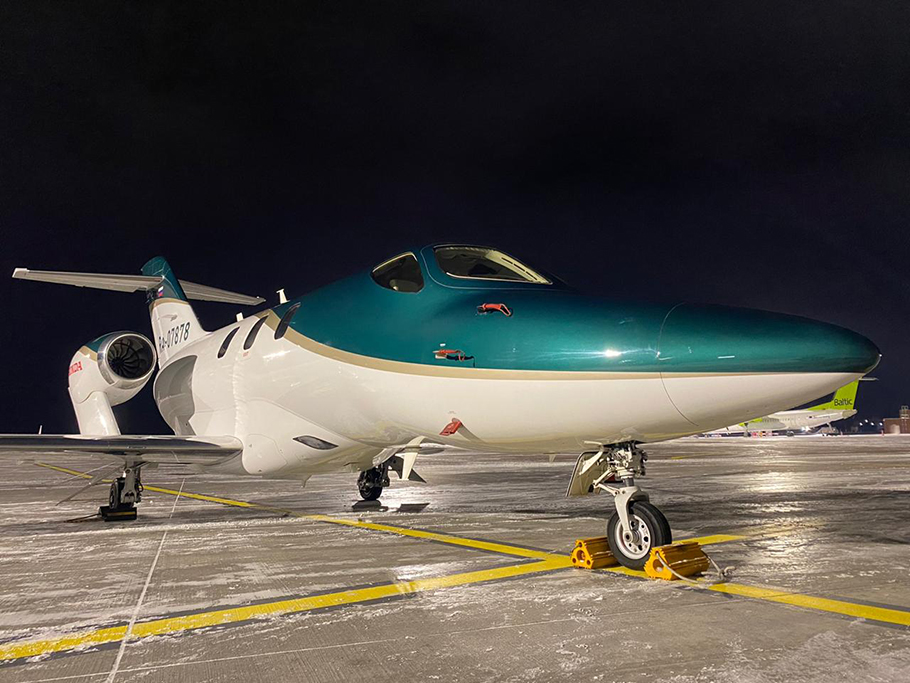 HondaJet Elite Obtains Russian Type Certification