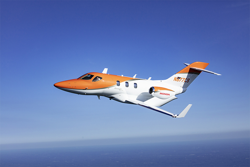 The HondaJet is the Most Delivered Aircraft in its Class for the Fourth Consecutive Year