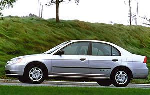 The Natural Gas Ed 2001 Honda Civic Gx