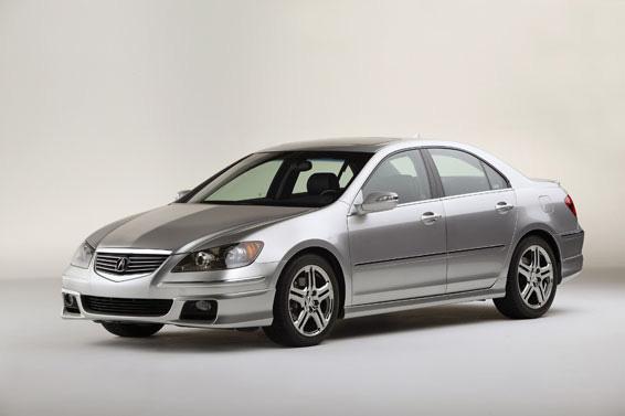 Honda Global November 2 2004 Acura Announces Rl A Spec Package