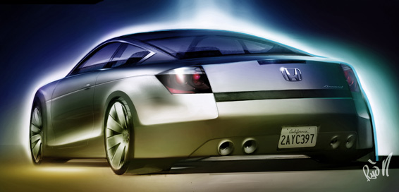 Honda Accord Coupe Concept to Debut at North American International Auto Show