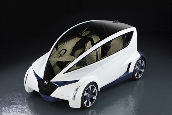 Honda 'Personal-Neo Urban Transport' Concept Demonstrates Potential for Ultra-compact City-focused Vehicle
