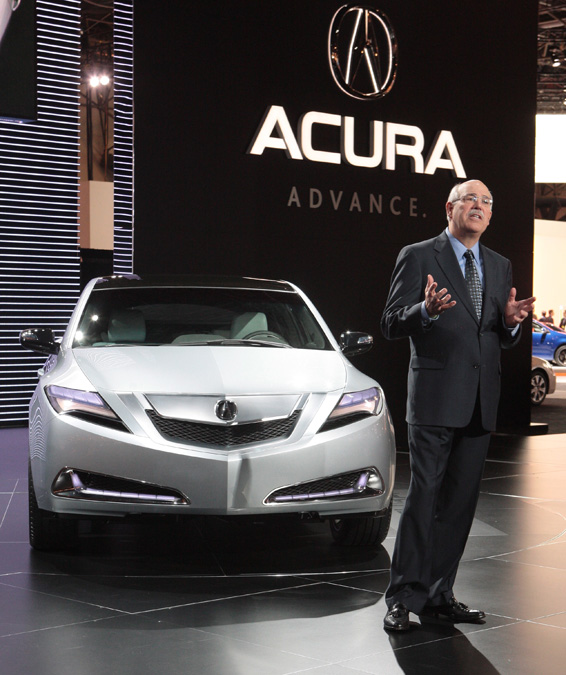 "April 8 , 2009 ""All-New Acura ZDX Debuts At"