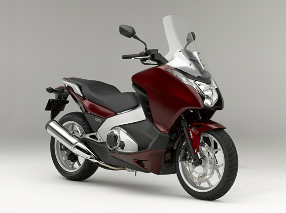 New Honda Integra – motorcycle performance with scooter comfort and protection