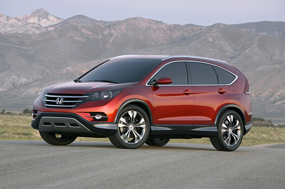2012 Honda CR-V Concept Reveals Dynamic New Styling of Future Model