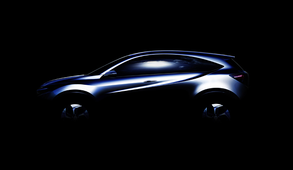 "Honda Compact ""Urban SUV Concept"" to Make World Debut at the 2013 North American International Auto Show"