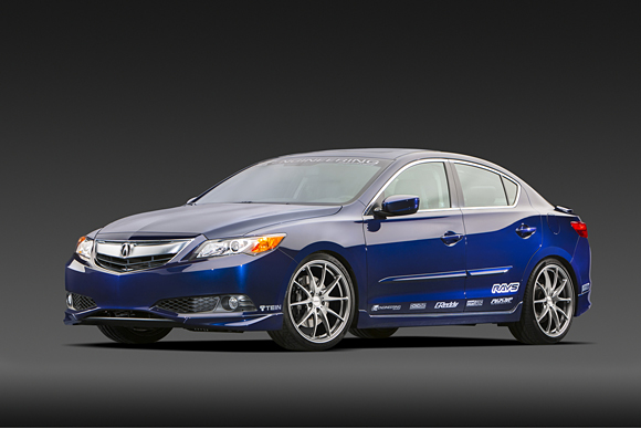 Honda Global October Acura Unveils Supercharged - Acura ilx accessories