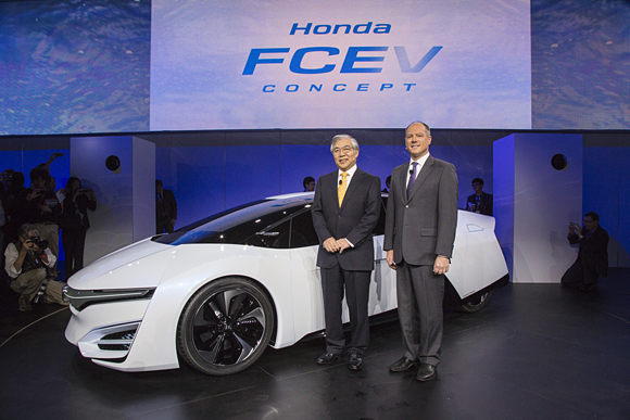 Executive Remarks of Honda Press Conference at the Los Angeles Auto Show