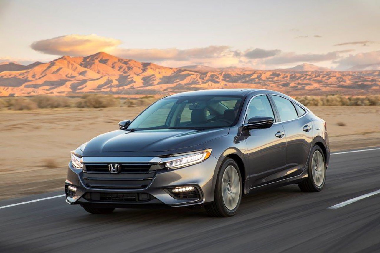 All-New 2019 Honda Insight Production Model Makes Global Debut at New York International Auto Show