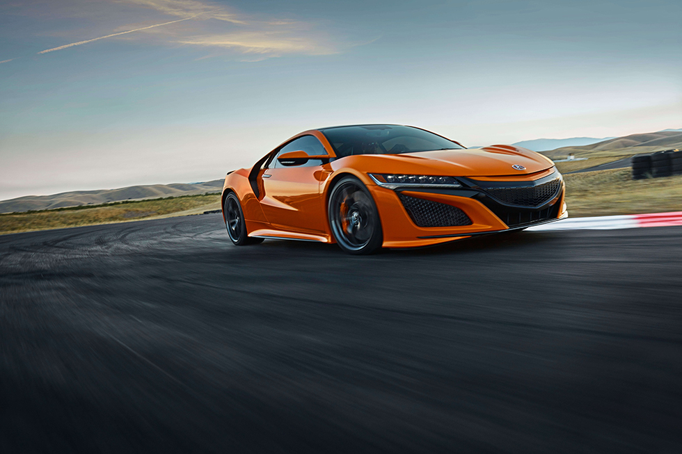 Torrance Usa August 23  Acura Nsx Will Make Its Debut At Monterey Car Week Featuring New Design Cues Exterior And Interior Color