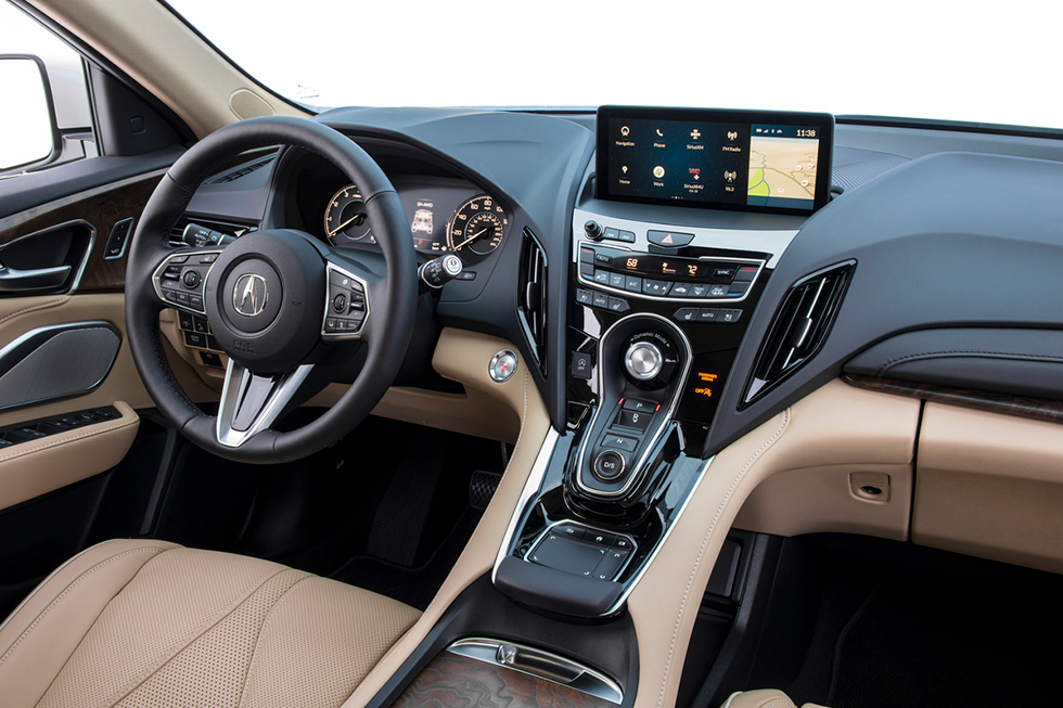 Acura's True Touchpad Interface Scores Big with Rich Features and Intuitive Functionality