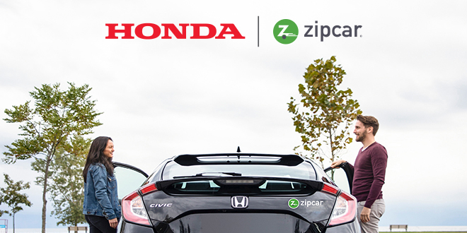 Zipcar and Honda Expand Strategic Partnership for Mobility Solutions