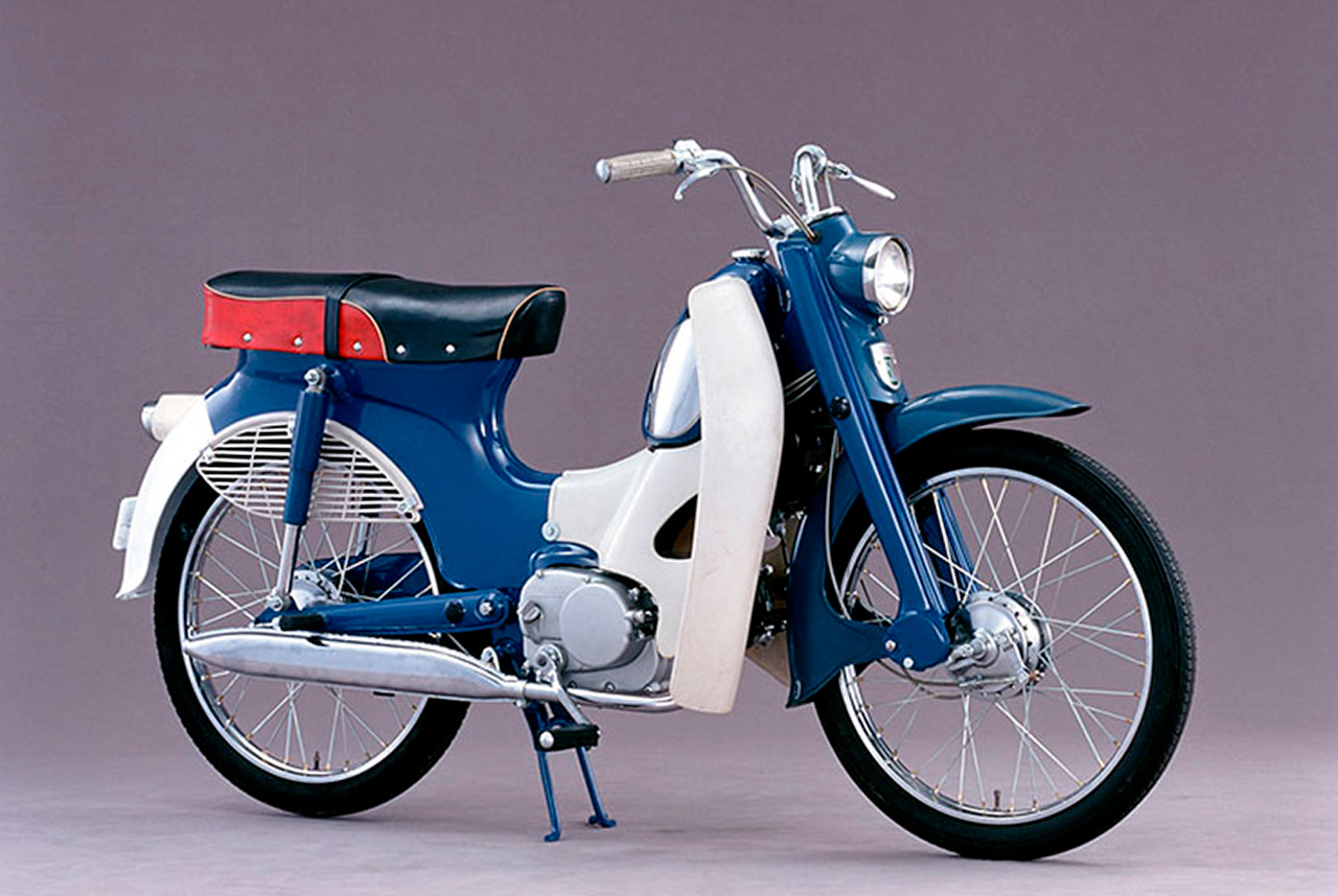 Following the Super Cub, Honda's Belgian plant commenced production of the C310, Honda's first local spec overseas production model.