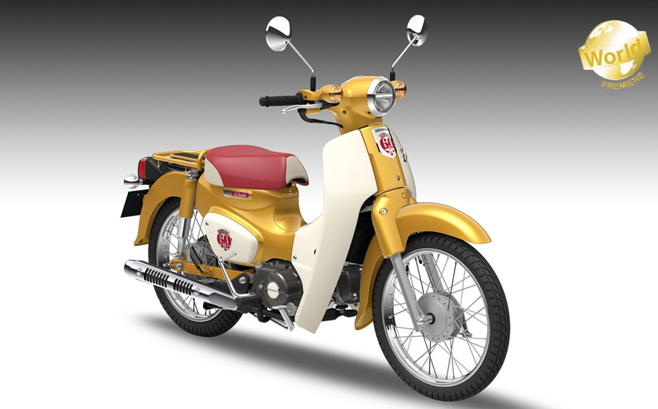 Super Cub 110 (100 million unit commemorative model)